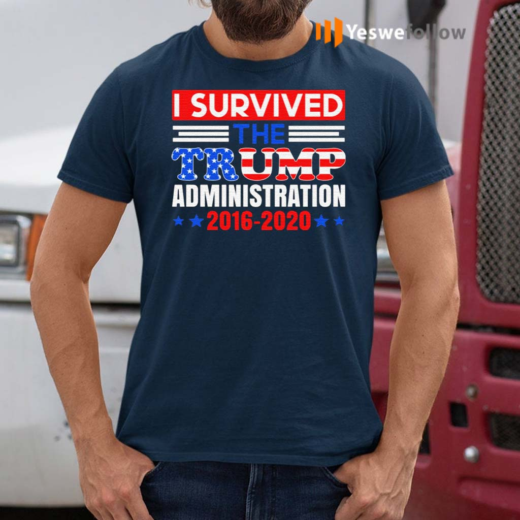 I-Survived-The-Trump-Administration-T-Shirt