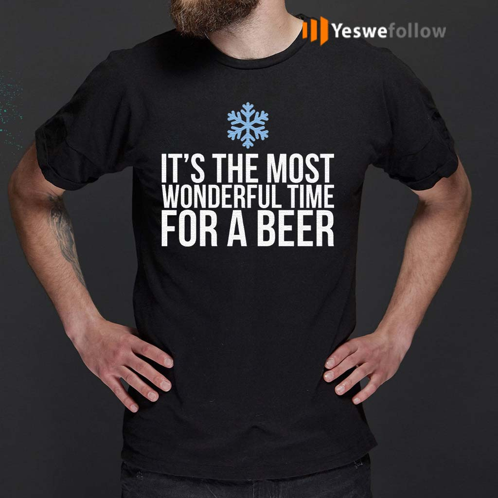 Its-The-Most-Wonderful-Time-For-A-Beer-T-Shirt