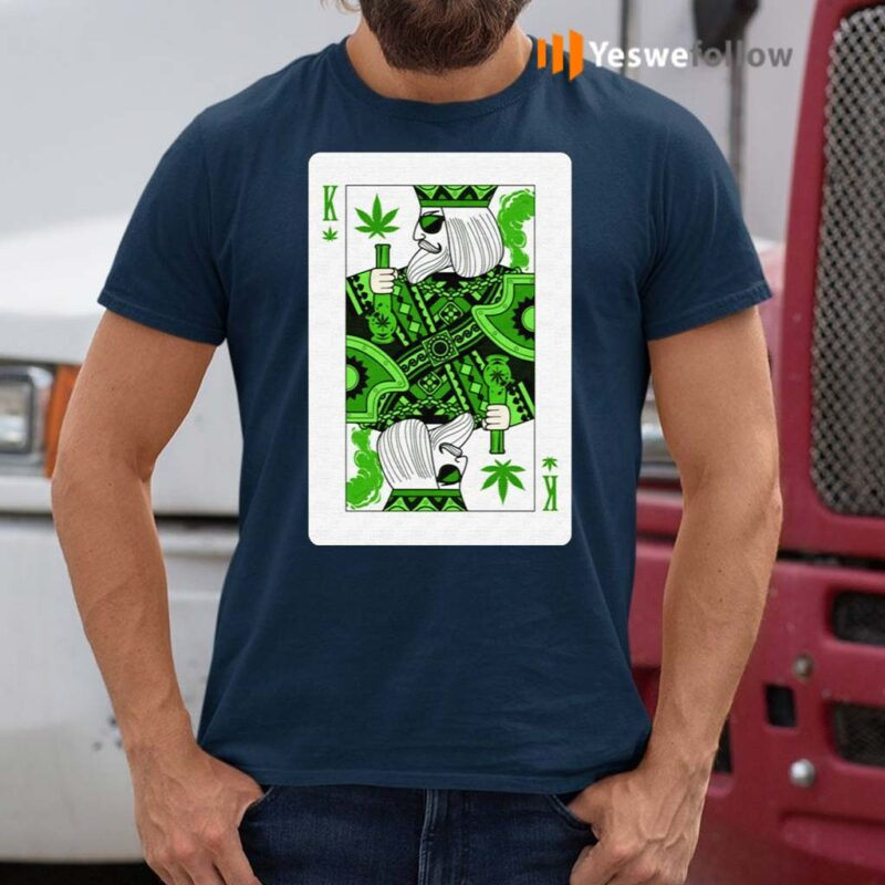 King-Of-Weed-Playing-Card-Marijuana-Pot-Smoker-Gifts-T-Shirt