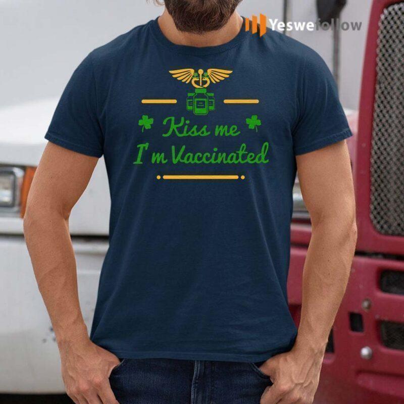 Kiss-Me-I'm-Vaccinated-T-Shirts