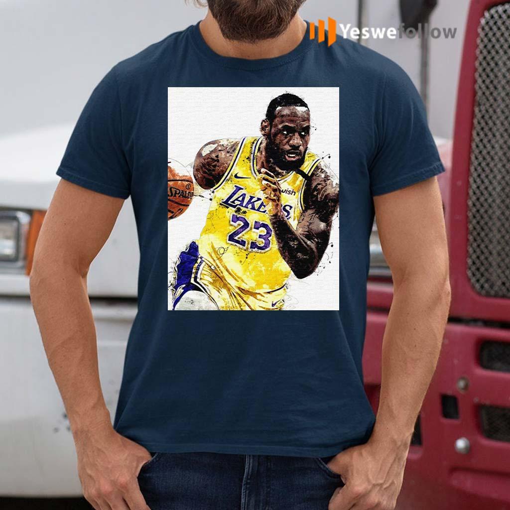 Lebron-James-23-Los-Angeles-Laker-Shirt