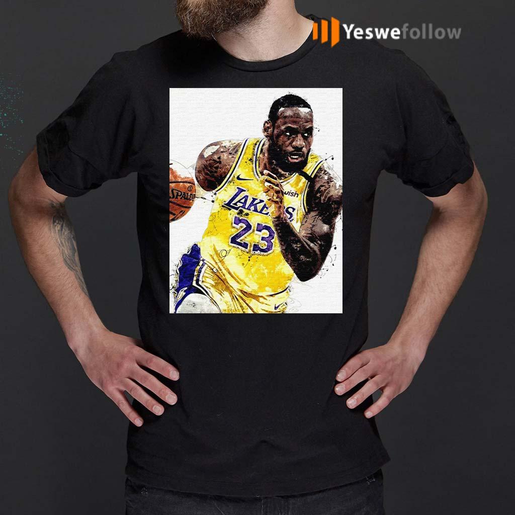Lebron-James-23-Los-Angeles-Laker-Shirts