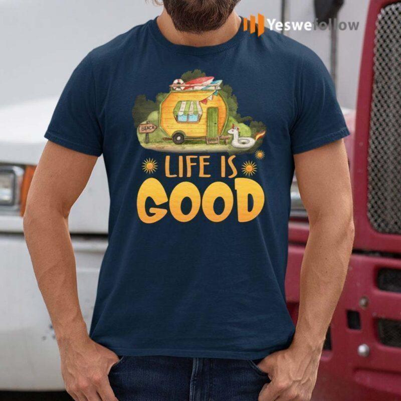 Life-Is-Good-Camping-Life-T-Shirt