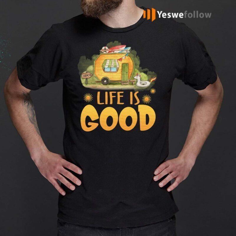 Life-Is-Good-Camping-Life-T-Shirts