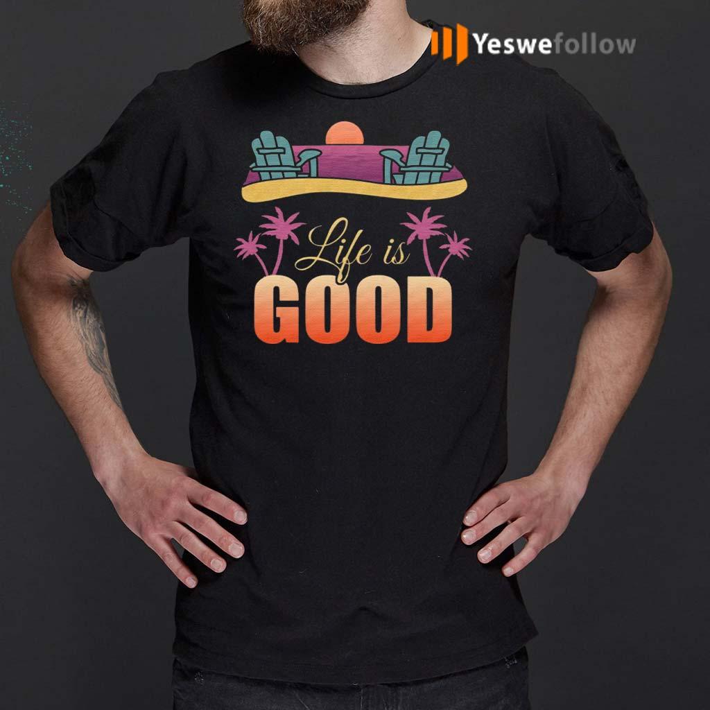 Life-is-Good-Beach-Life-T-Shirts