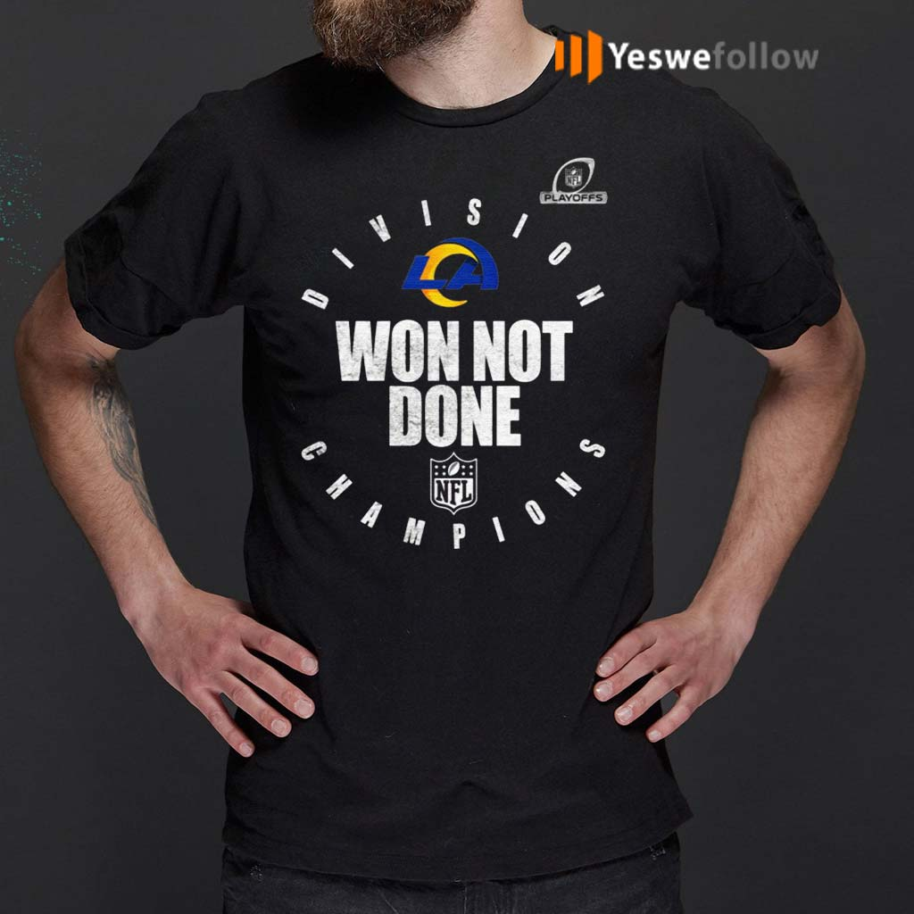 Los-Angeles-Rams-NFC-West-Champions-2020-Won-Not-Don-Shirts