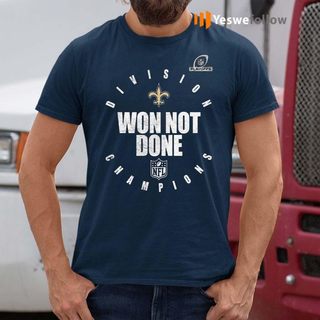 New-Orlean-Saints-NFC-South-Champions-2020-Won-Not-Don-Shirt