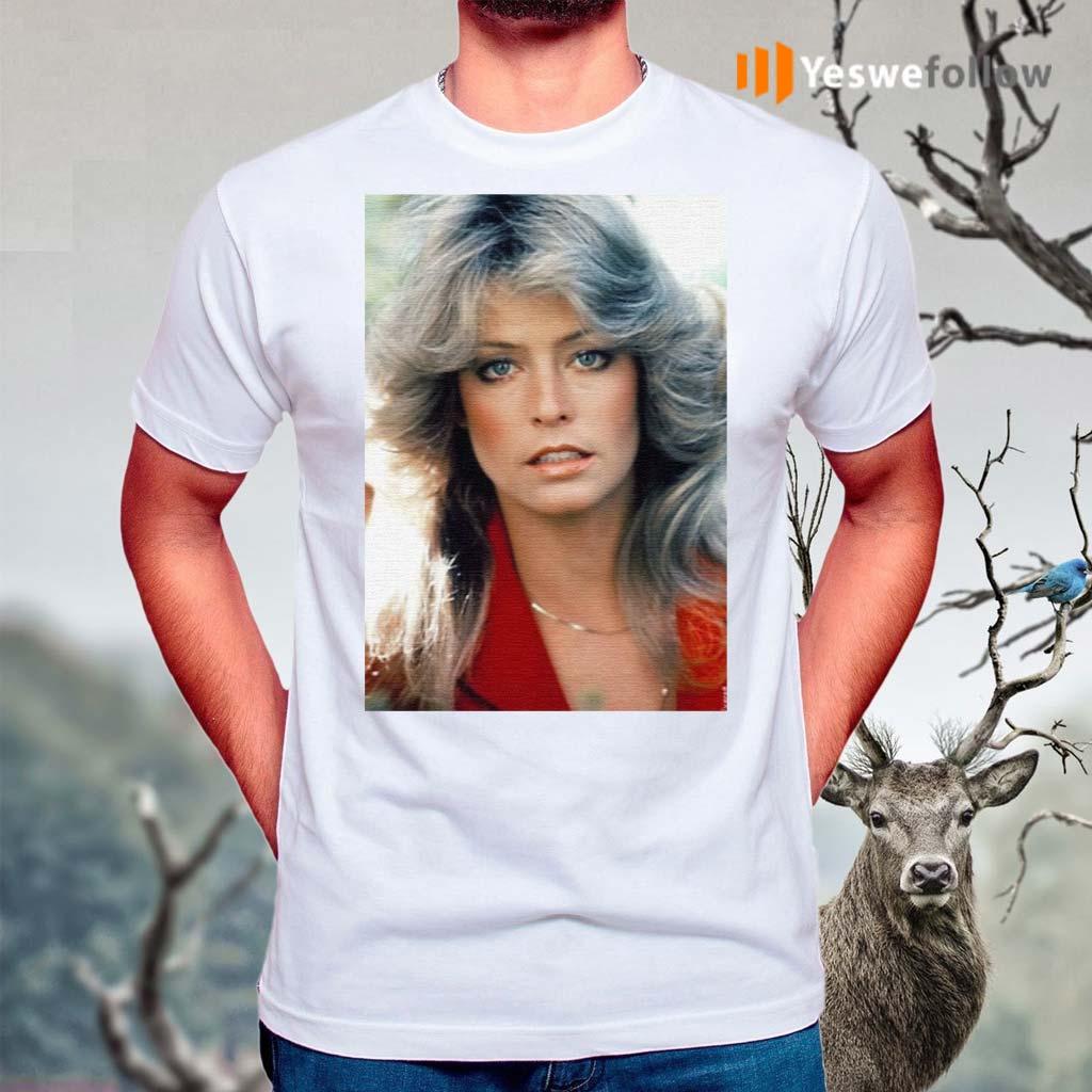 Orlando-Brown-Farrah-Fawcett-T-Shirts