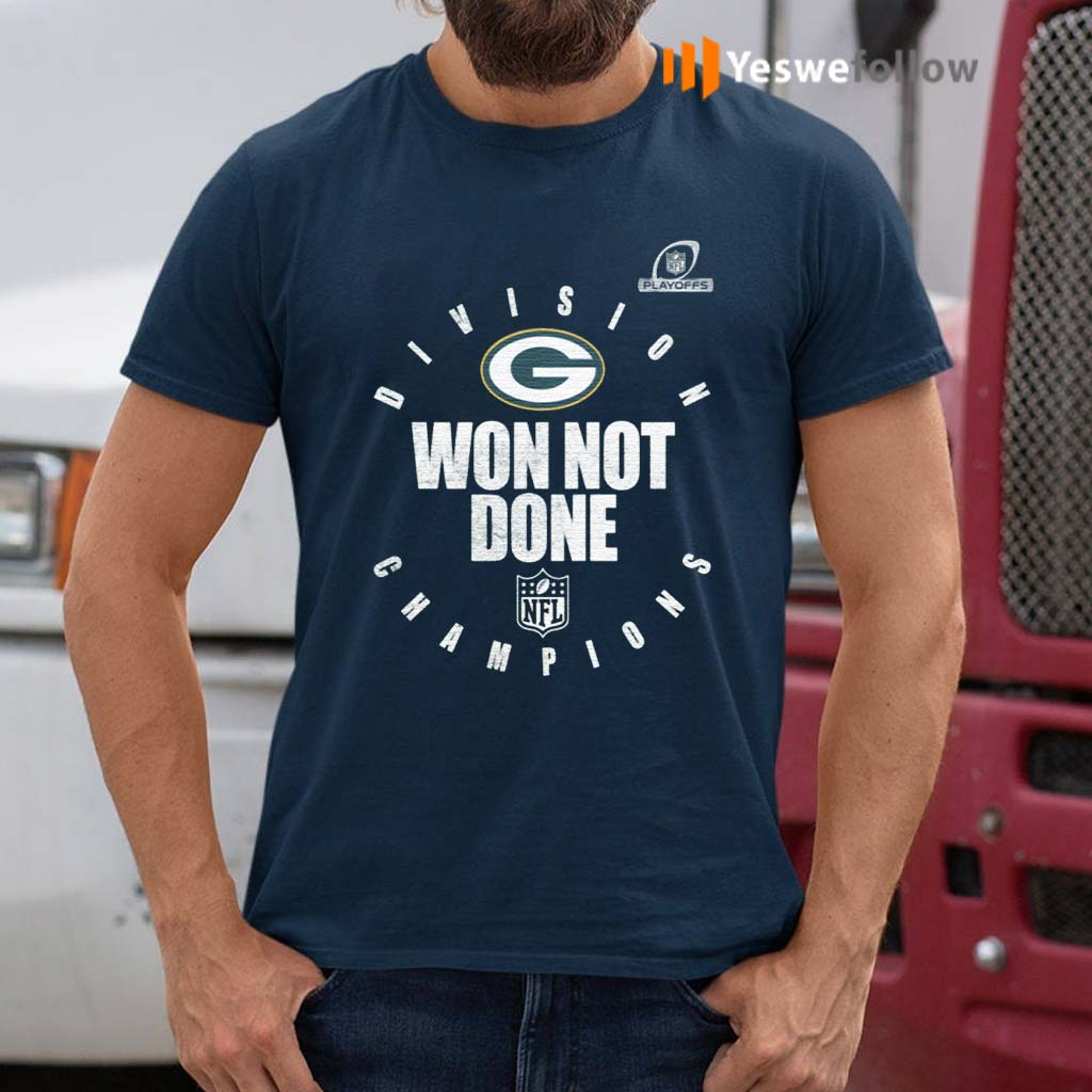 Packers-NFC-North-Champions-2020-Won-Not-Don-Shirt