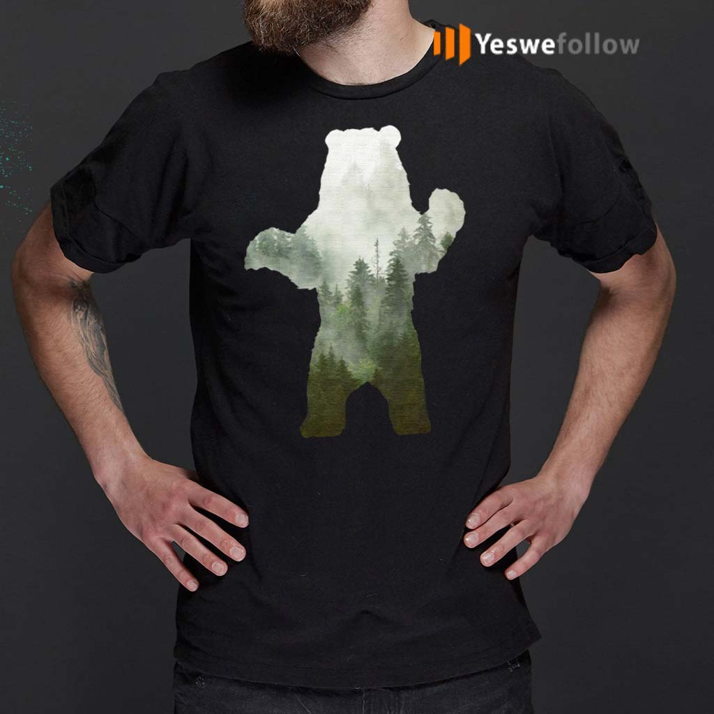 Preserve-and-Protect-Bear-Wildlife-T-Shirts