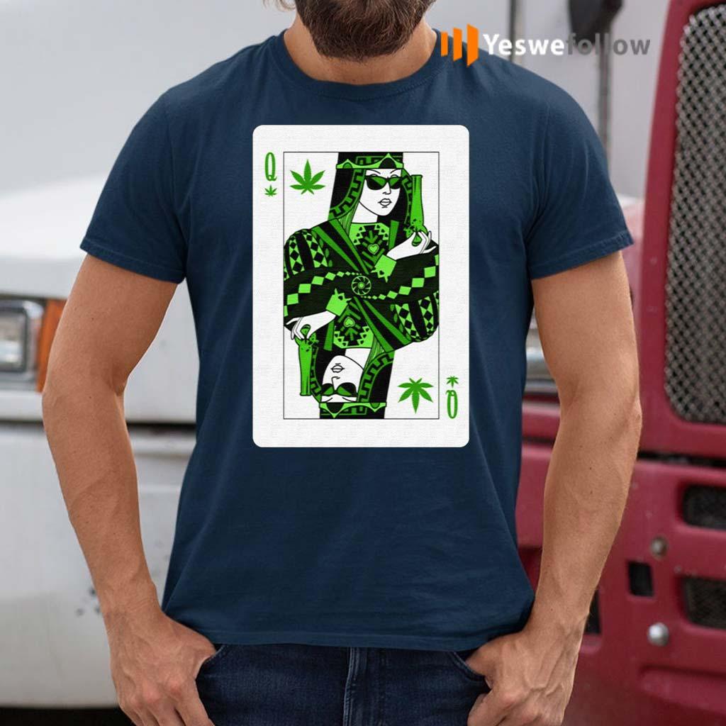 Queen-Of-Weed-Playing-Card-Marijuana-Pot-Smoker-Gifts-T-Shirts
