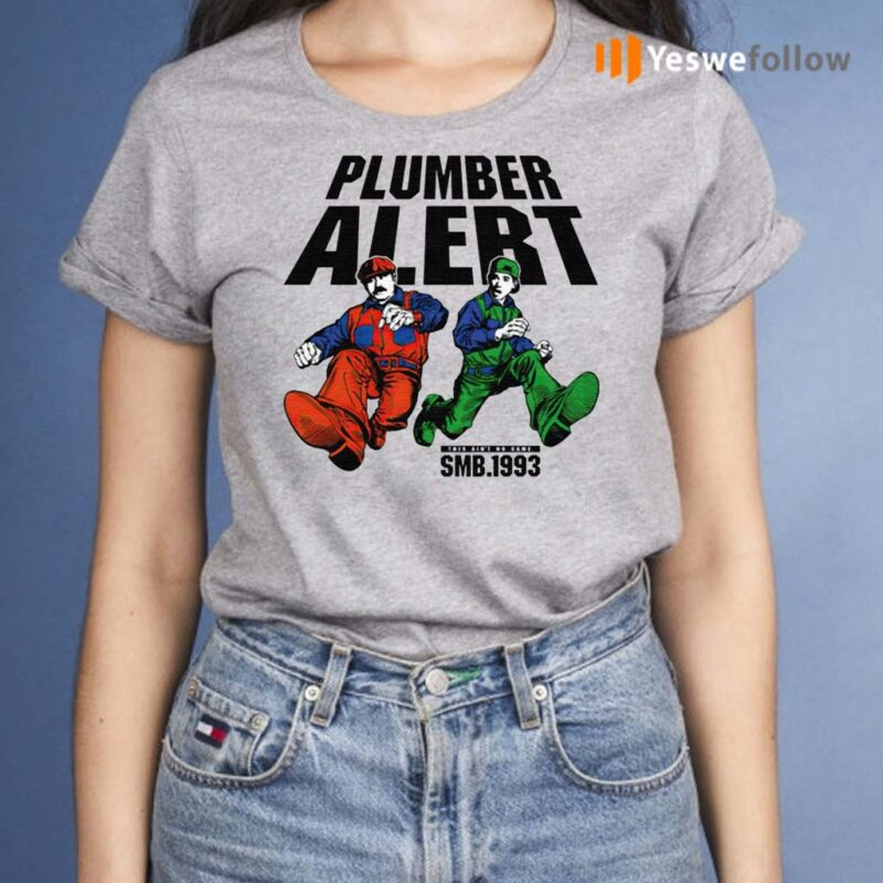 SMB-1993-Plumber-Alert-Shirt