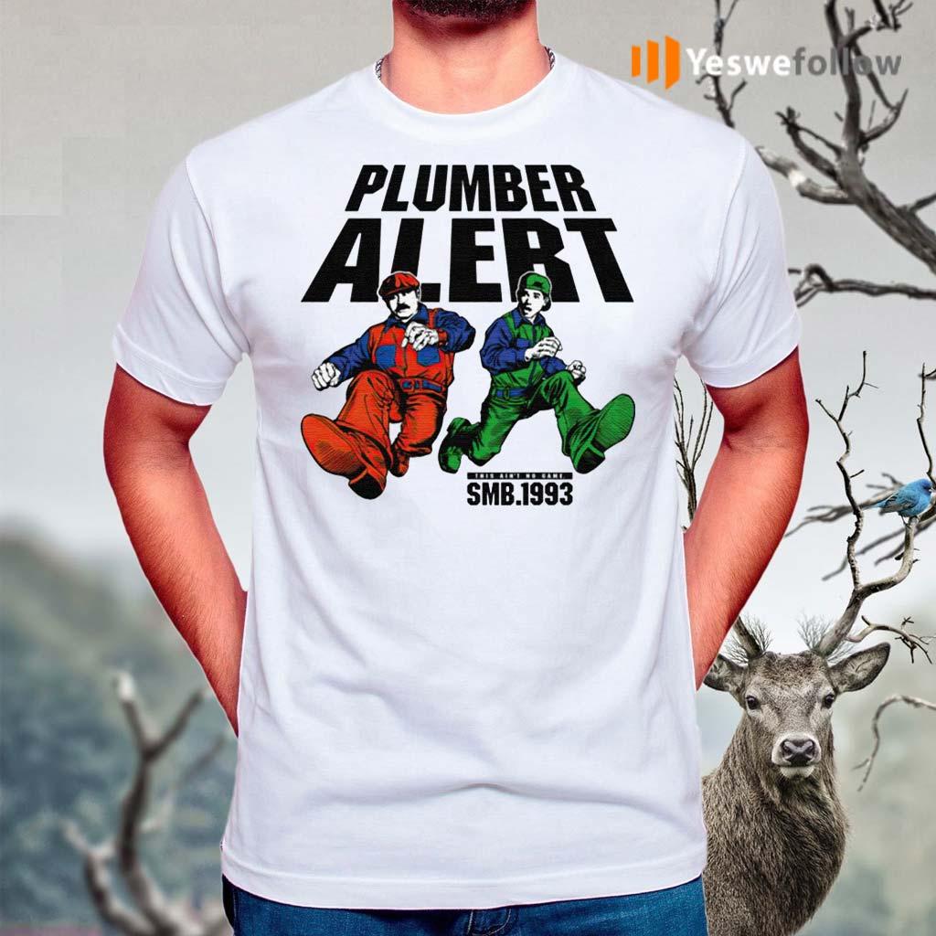 SMB-1993-Plumber-Alert-Shirts