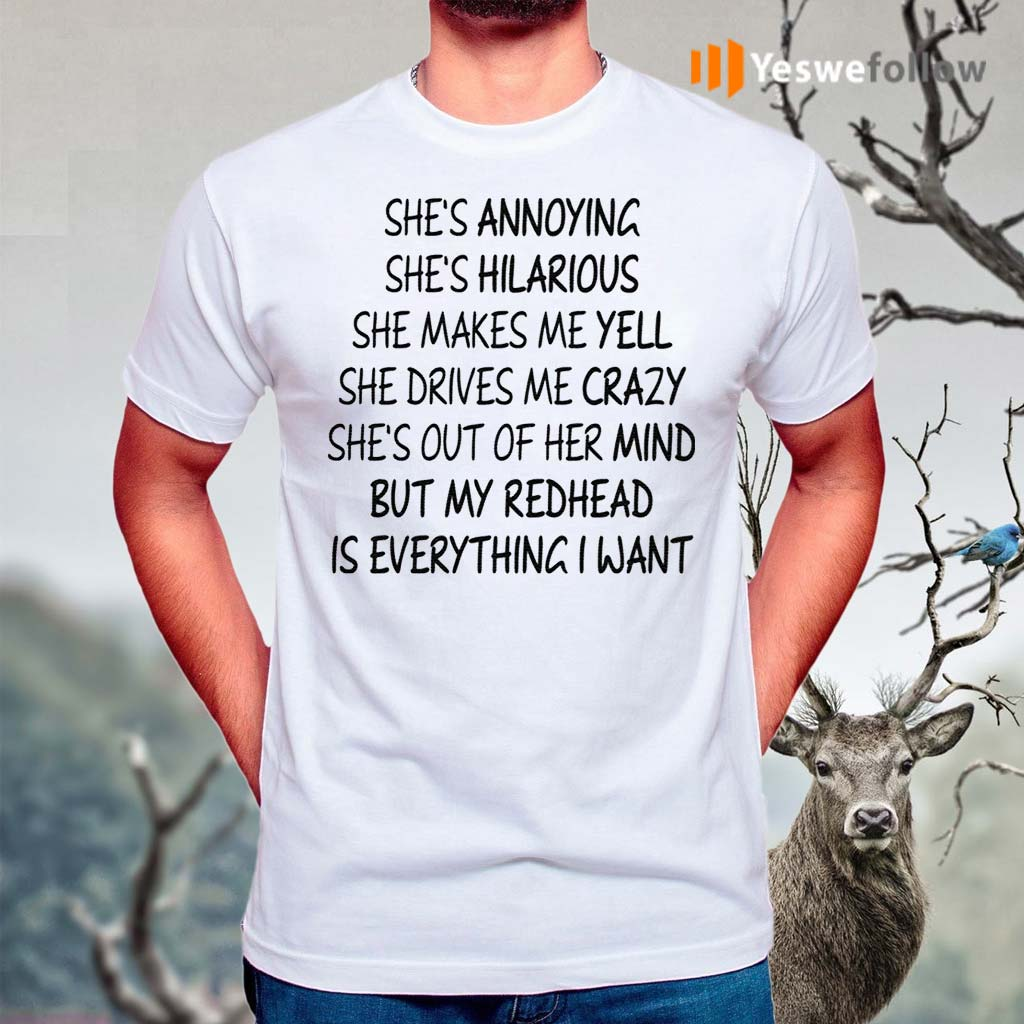 She's-Annoying-She's-Hilarious-She-Makes-Me-Yell-Shirts
