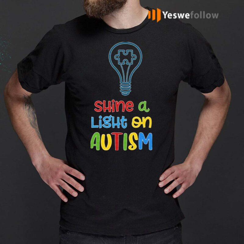 Shine-A-Light-On-Autism-T-Shirts
