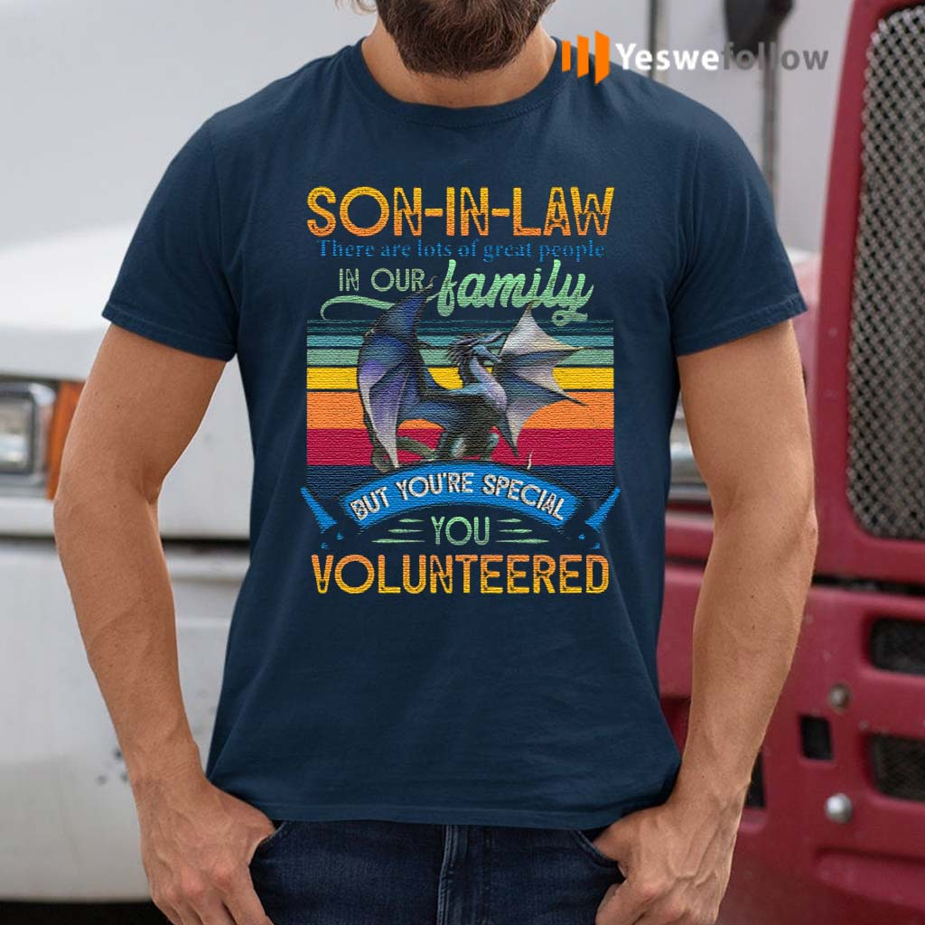 Son-In-Law-You-Volunteered-T-Shirt
