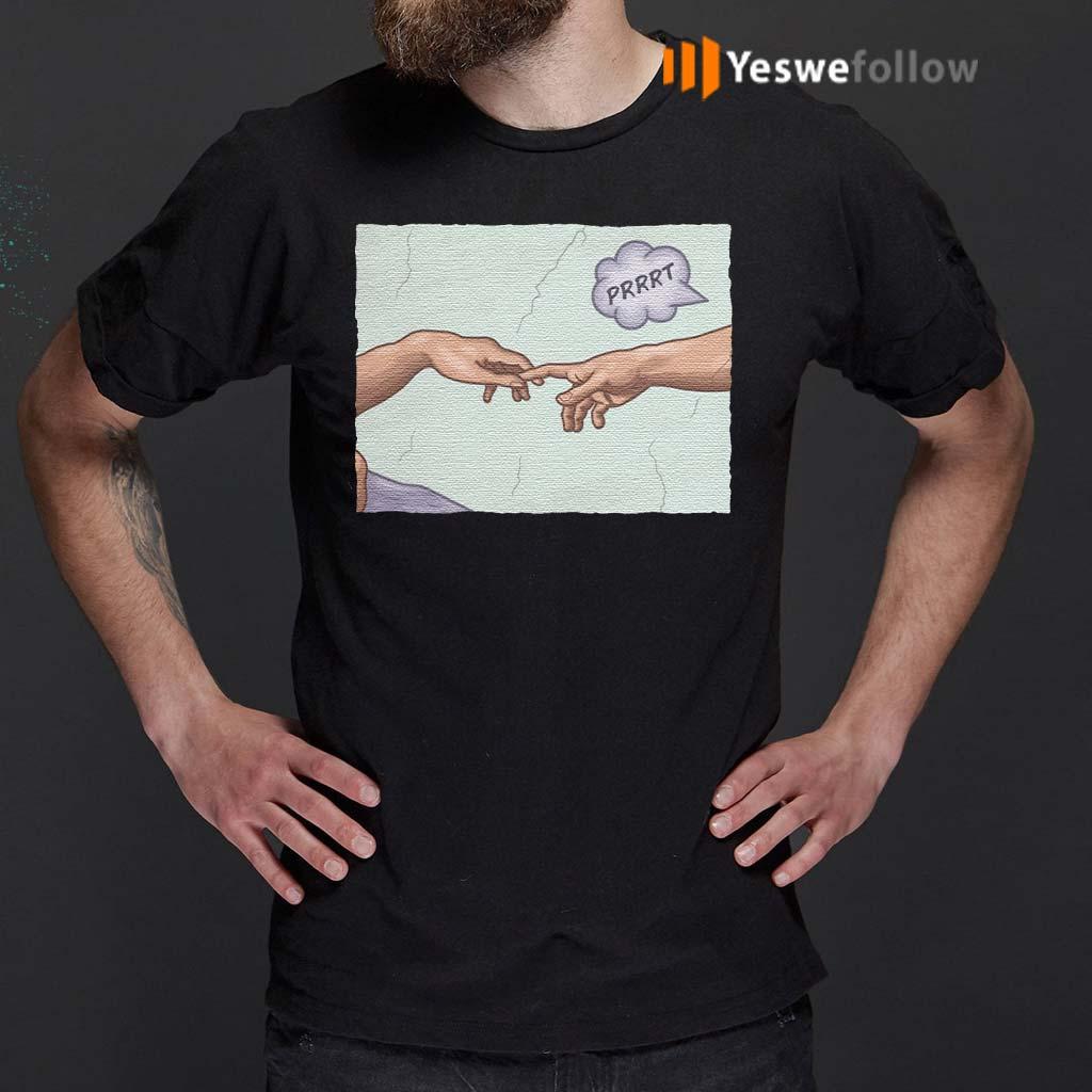 The-Creation-of-a-Joke-T-Shirt
