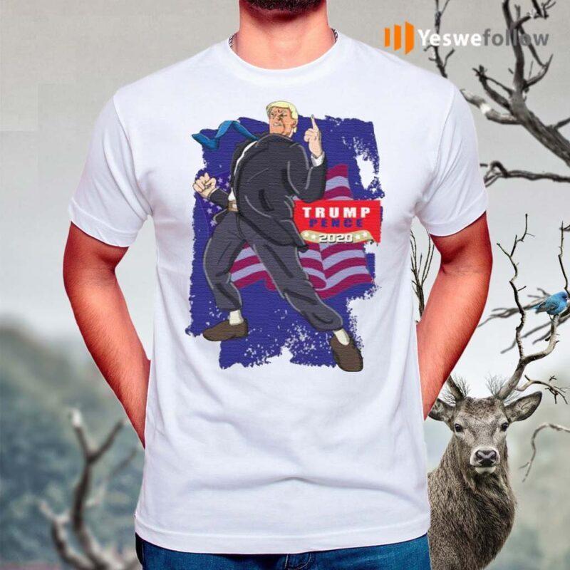 Trump-Pence-2020-American-Flag-shirt