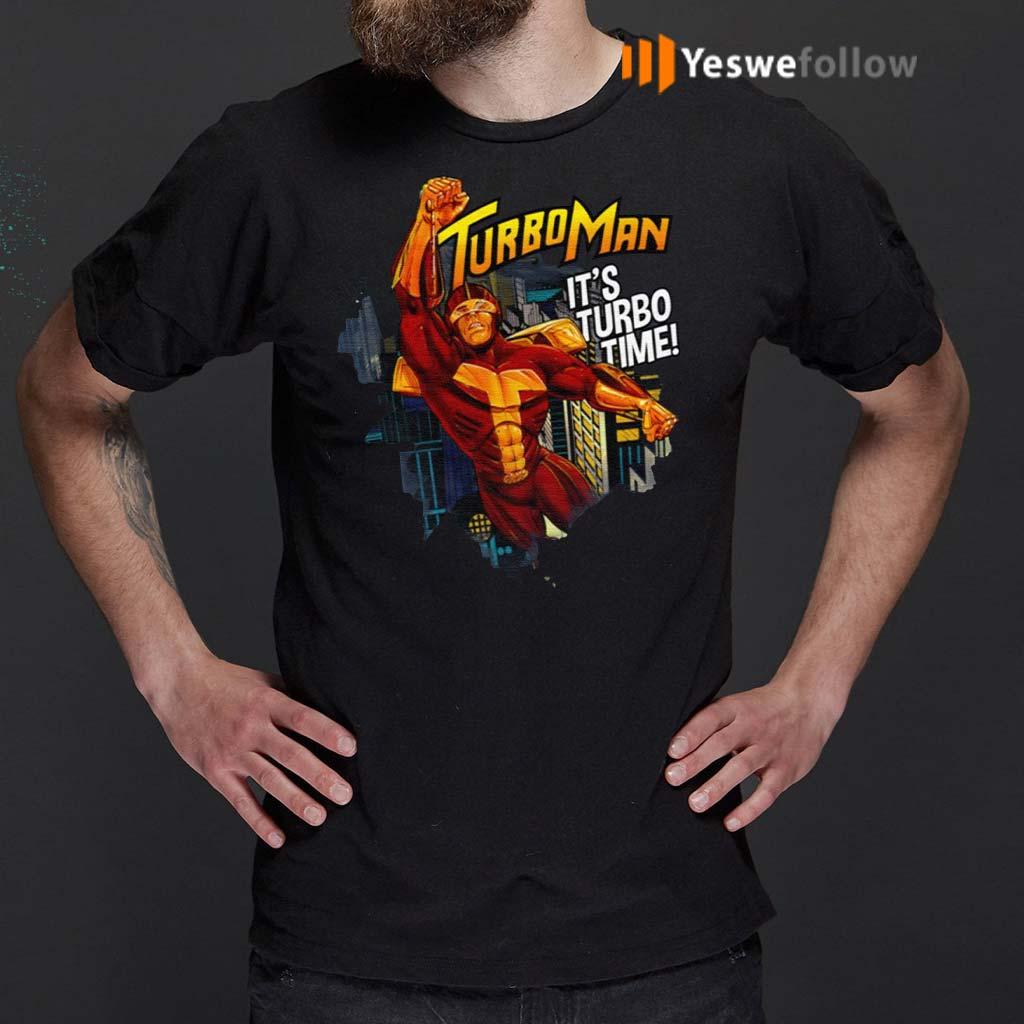 Turbo-Man-It's-Turbo-Time-Shirt