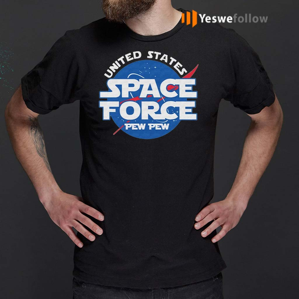 United-States-Space-Force-Pew-Pew-TShirt