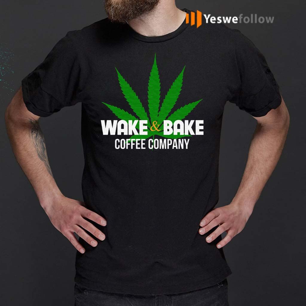 Wake-And-Bake-Coffee-Company-T-Shirts