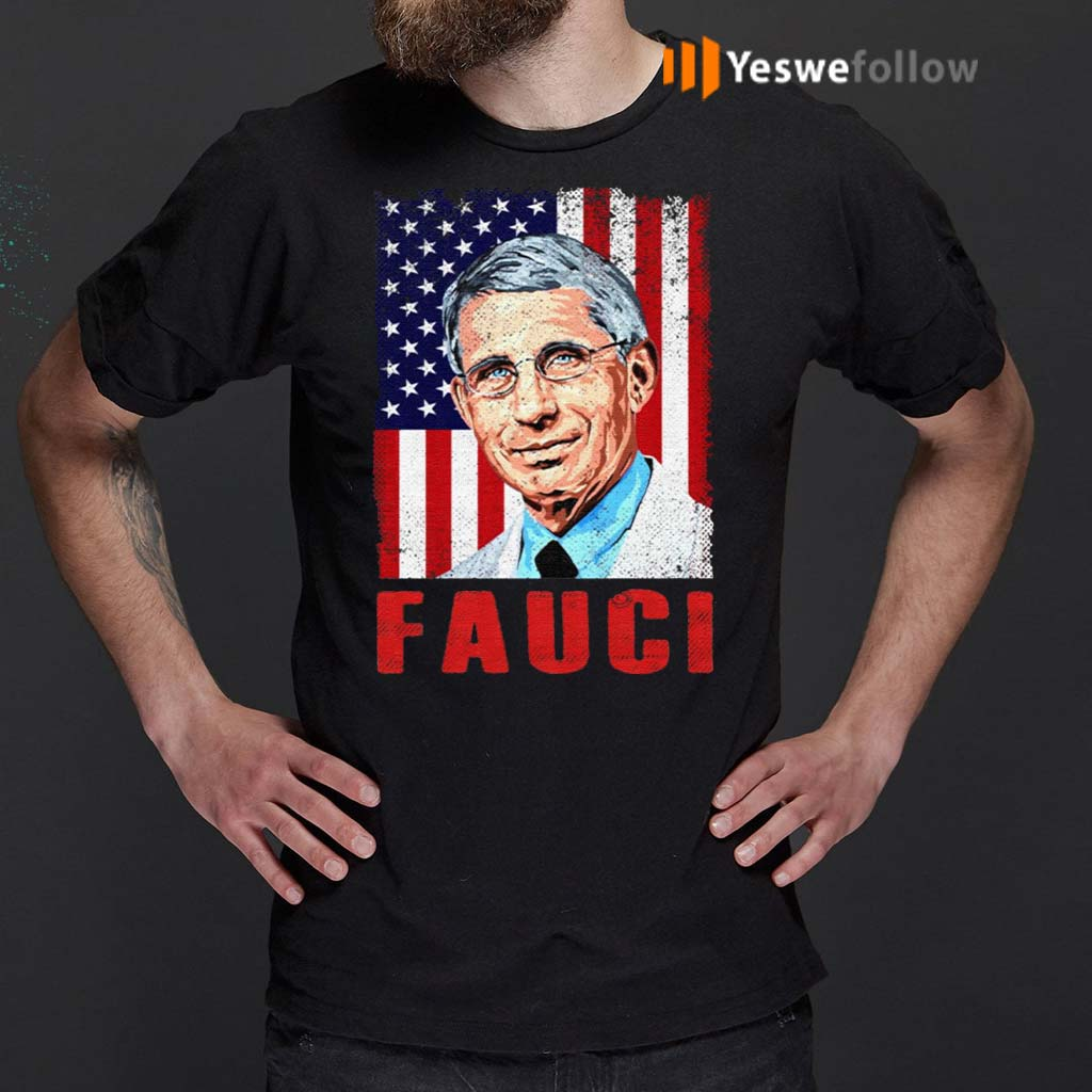 We-Trust-In-Science-Dr-Fauci-Vintage-American-Flag-T-Shirt