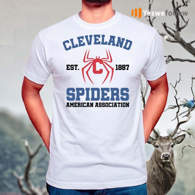 cleveland-spiders-american-association-t-shirts