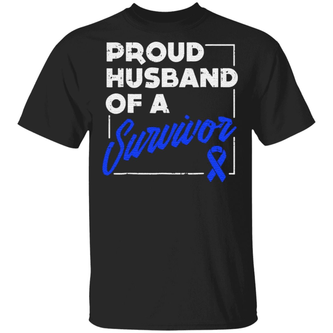 Proud Husband Of A Survivor TShirt