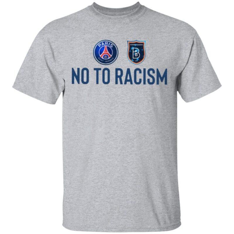 No To Racism Psg T Shirt