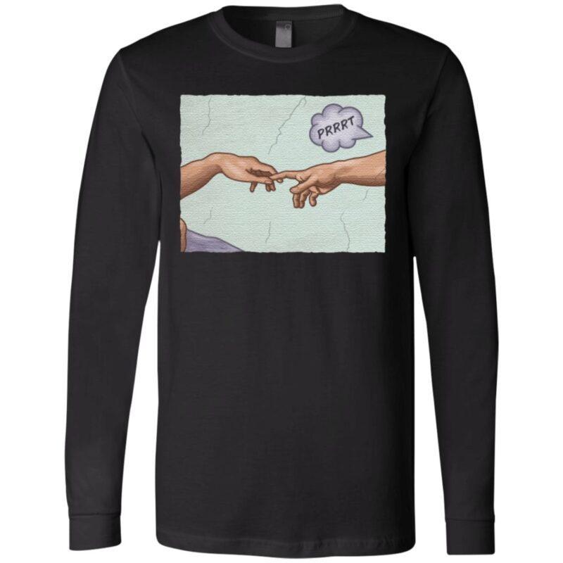 The Creation of a Joke T-Shirt