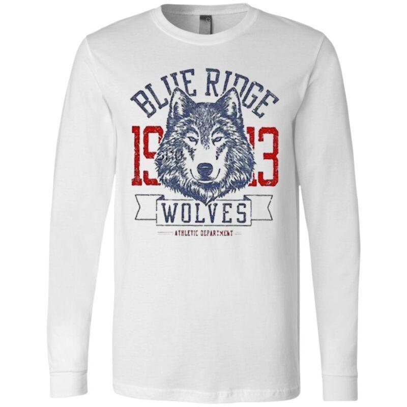 Blue Ridge 1913 Wolves Athletic Department T Shirt