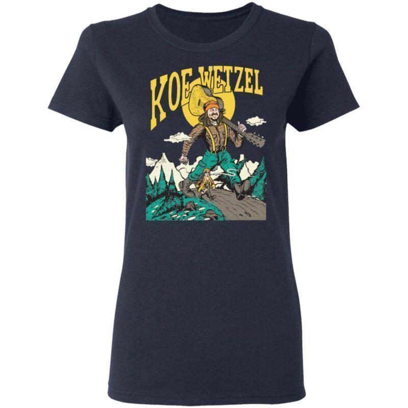 koe wetzel make believe t shirt