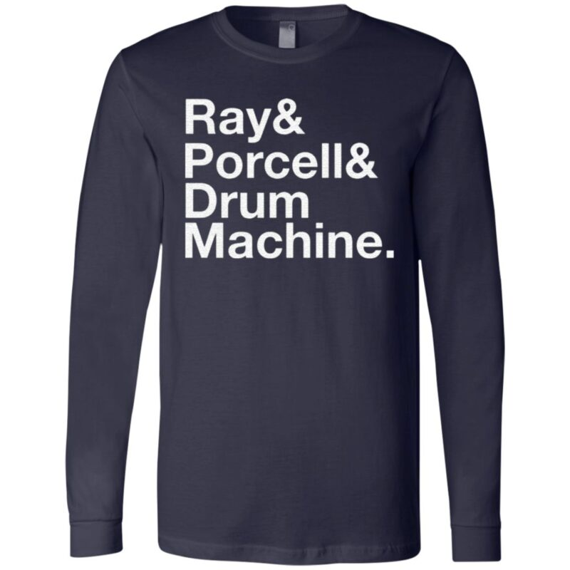 Ray and Porcell and Drum Machine T Shirt