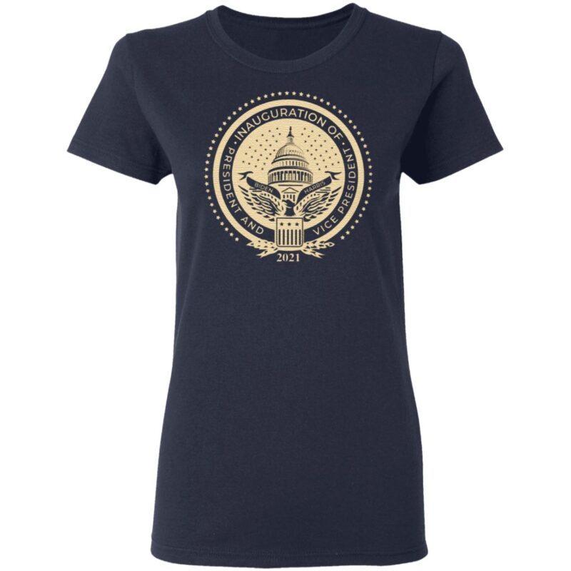 Inaugural Seal Navy T Shirt
