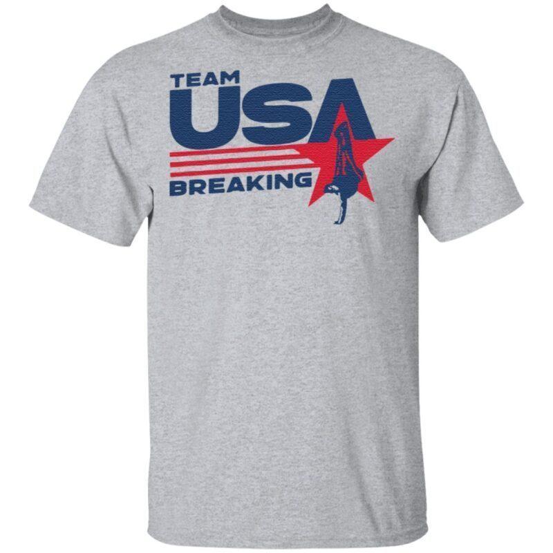 Team USA Breaking T Shirt
