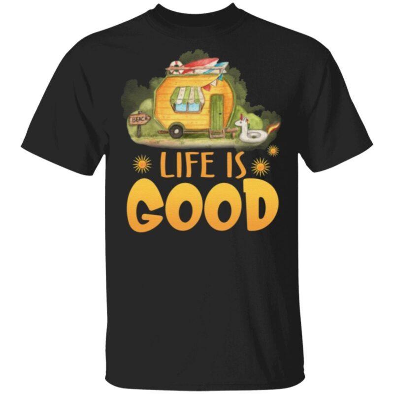 Life Is Good Camping Life T-Shirt