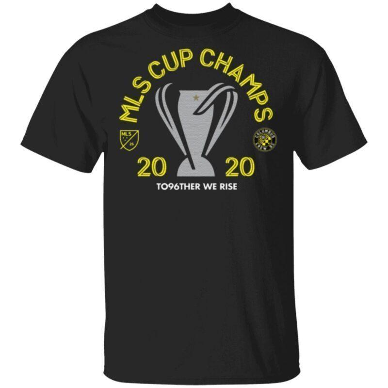 Columbus Crew SC 2020 MLS Cup Champions T Shirt