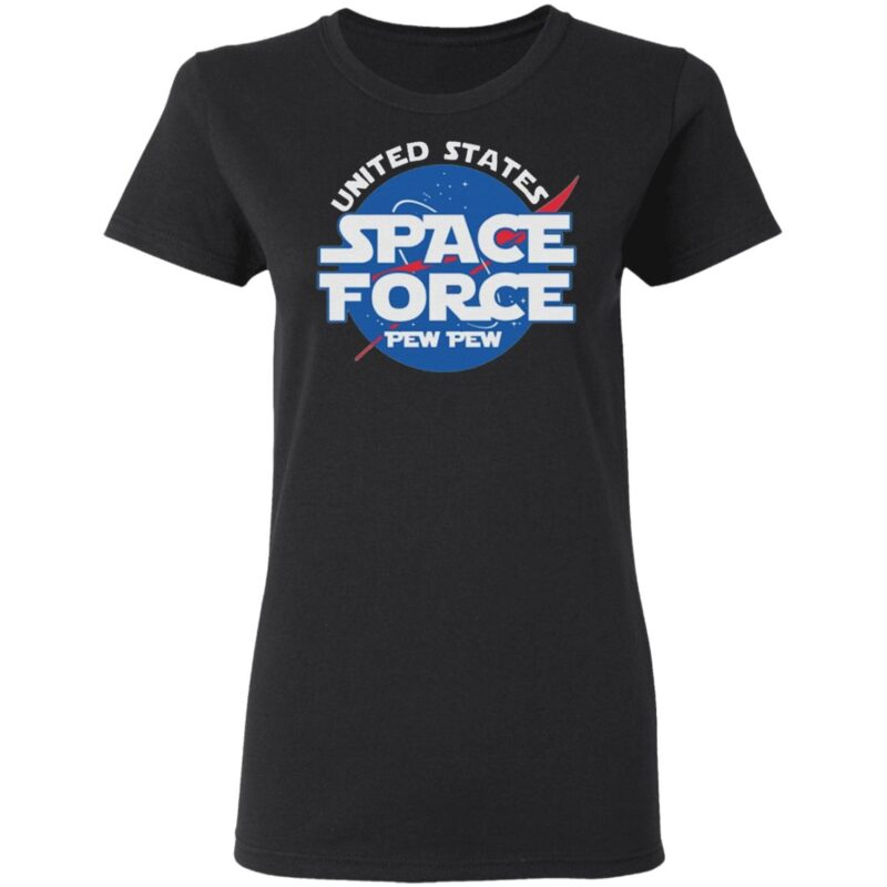 United States Space Force Pew Pew TShirt