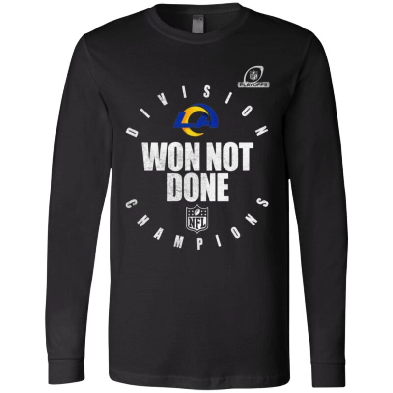 Los Angeles Rams NFC West Champions 2020 Won Not Don T Shirt