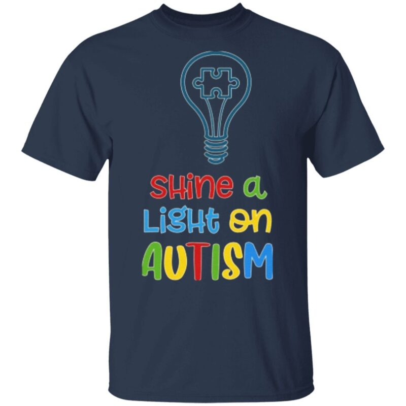 Shine A Light On Autism T-Shirt