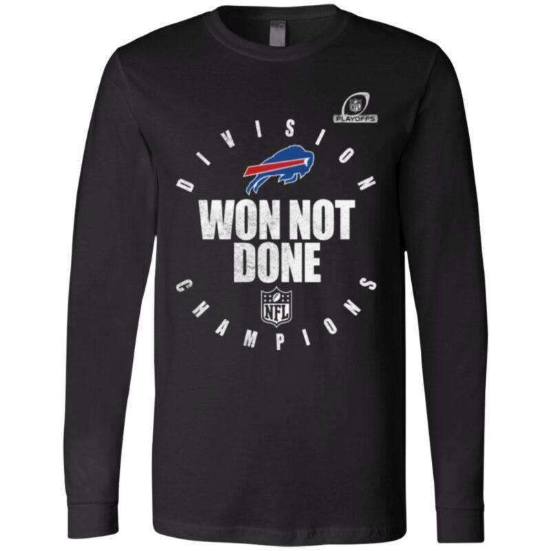 Buffalo Bills AFC East Champions 2020 Won Not Don T Shirt