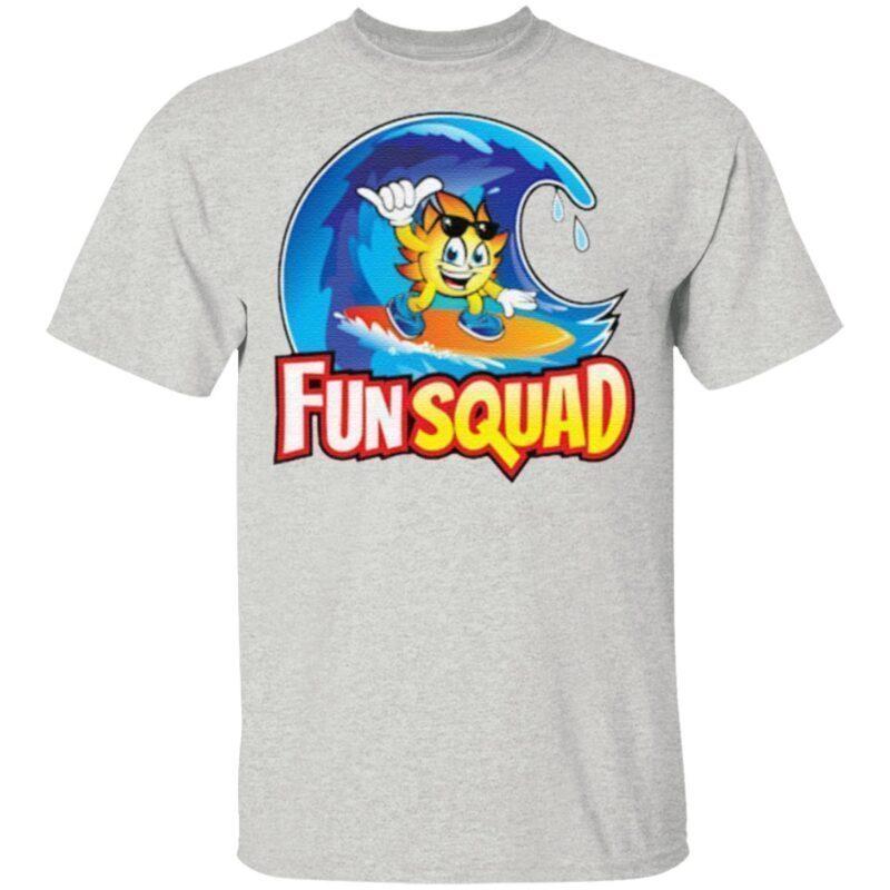 kids fun squad t shirt