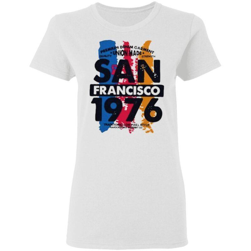 Union made san francisco 1076 t shirt