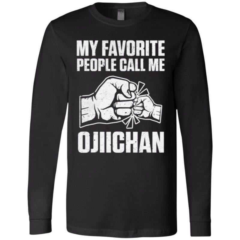 My Favorite People Call Me Ojiichan T Shirt