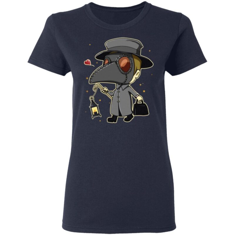 Plague Doctor With Lantern T-Shirt