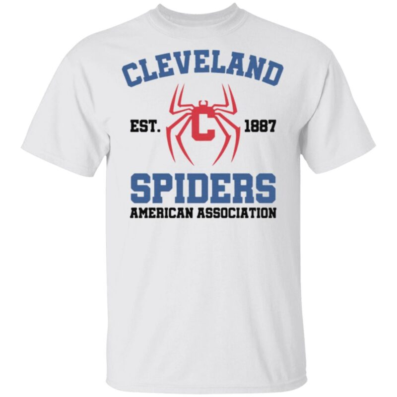 cleveland spiders american association t shirt