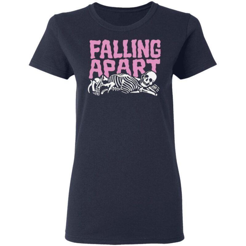 Falling Apart Skeleton T Shirt