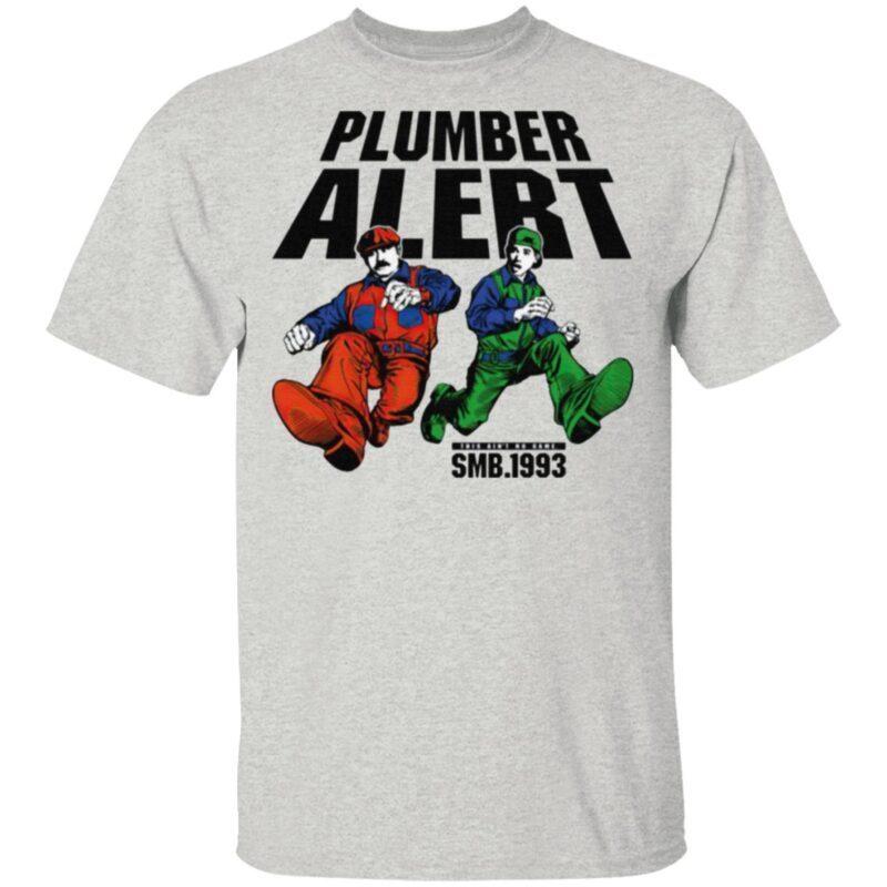 SMB 1993 Plumber Alert T Shirt