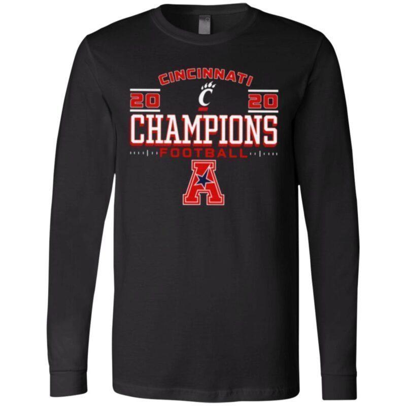 Cincinnati Bearcats 2020 AAC Football Champions T Shirt