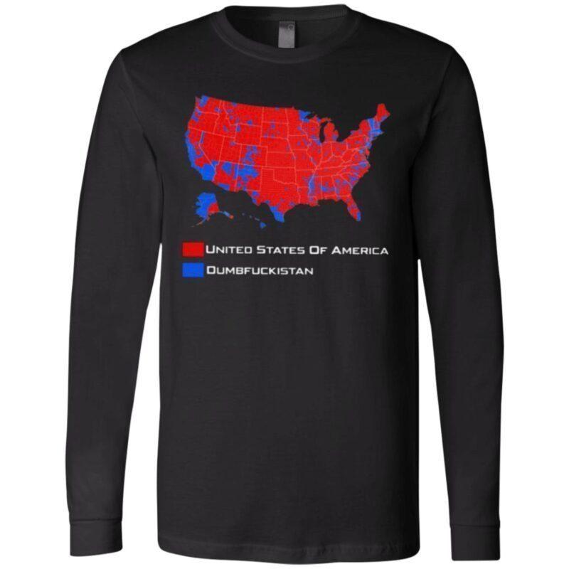 United States Of America Dumbfuckistan T Shirt